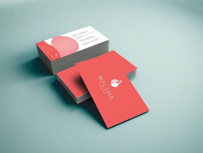 maleha-businesscards-logo-brand-768×581