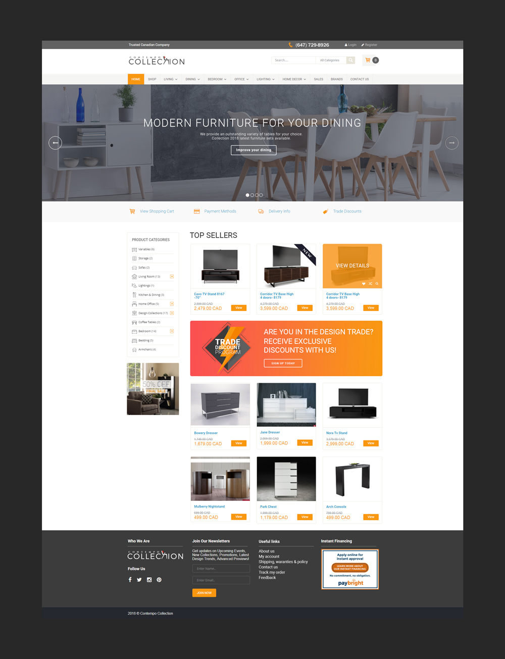 vente-ligne-meubles-commerce