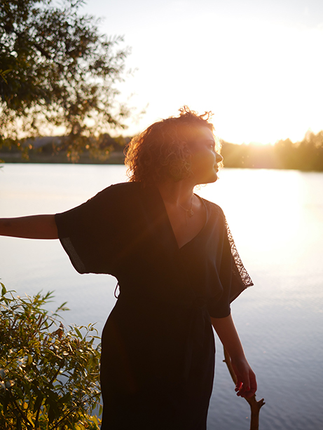 photographie-lac-femme-arttractiv